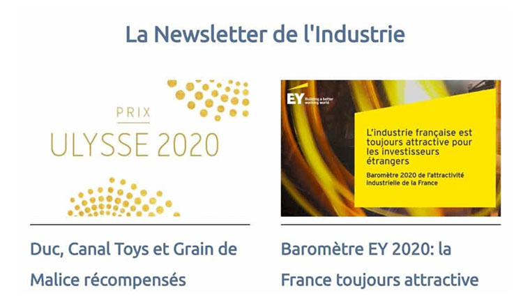 Chetwode présente : La newsletter de l'industrie